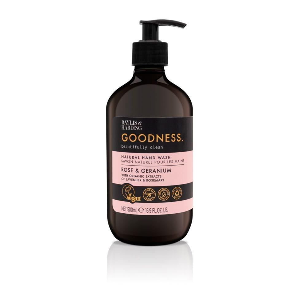 Jabón para manos Baylis & Harding® aroma rosas y geranios