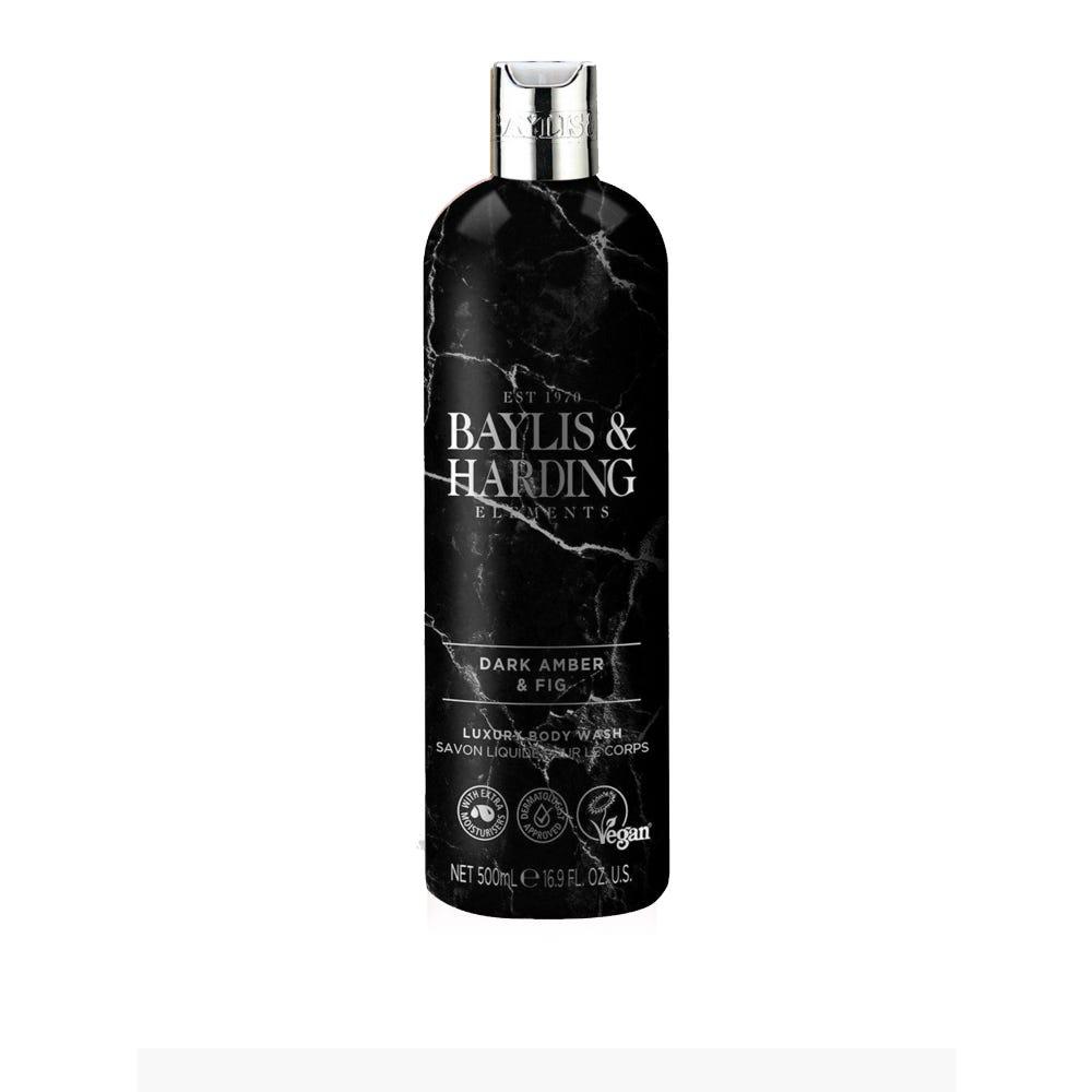 Gel de baño corporal Baylis & Harding® aroma ámbar oscuro e higo