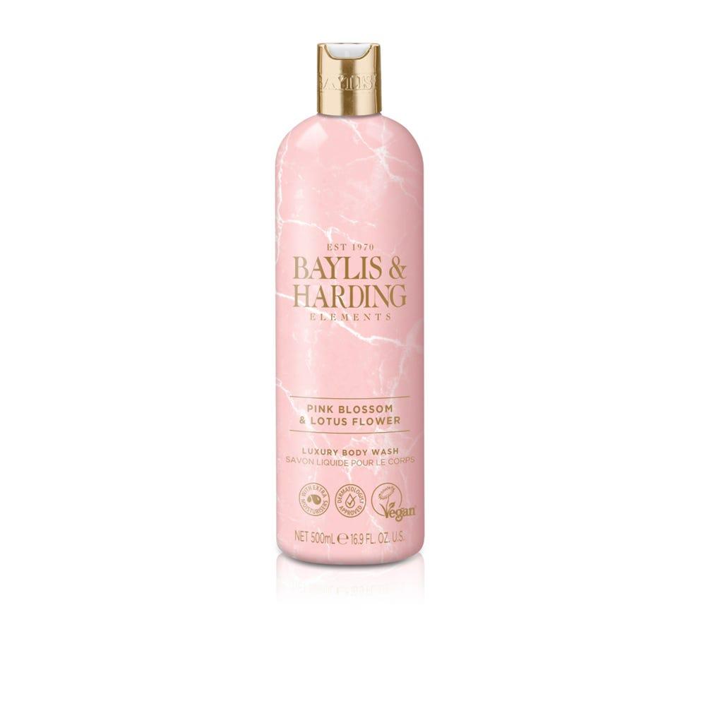 Gel de baño corporal Baylis & Harding® aroma flor de loto y frutas rosadas