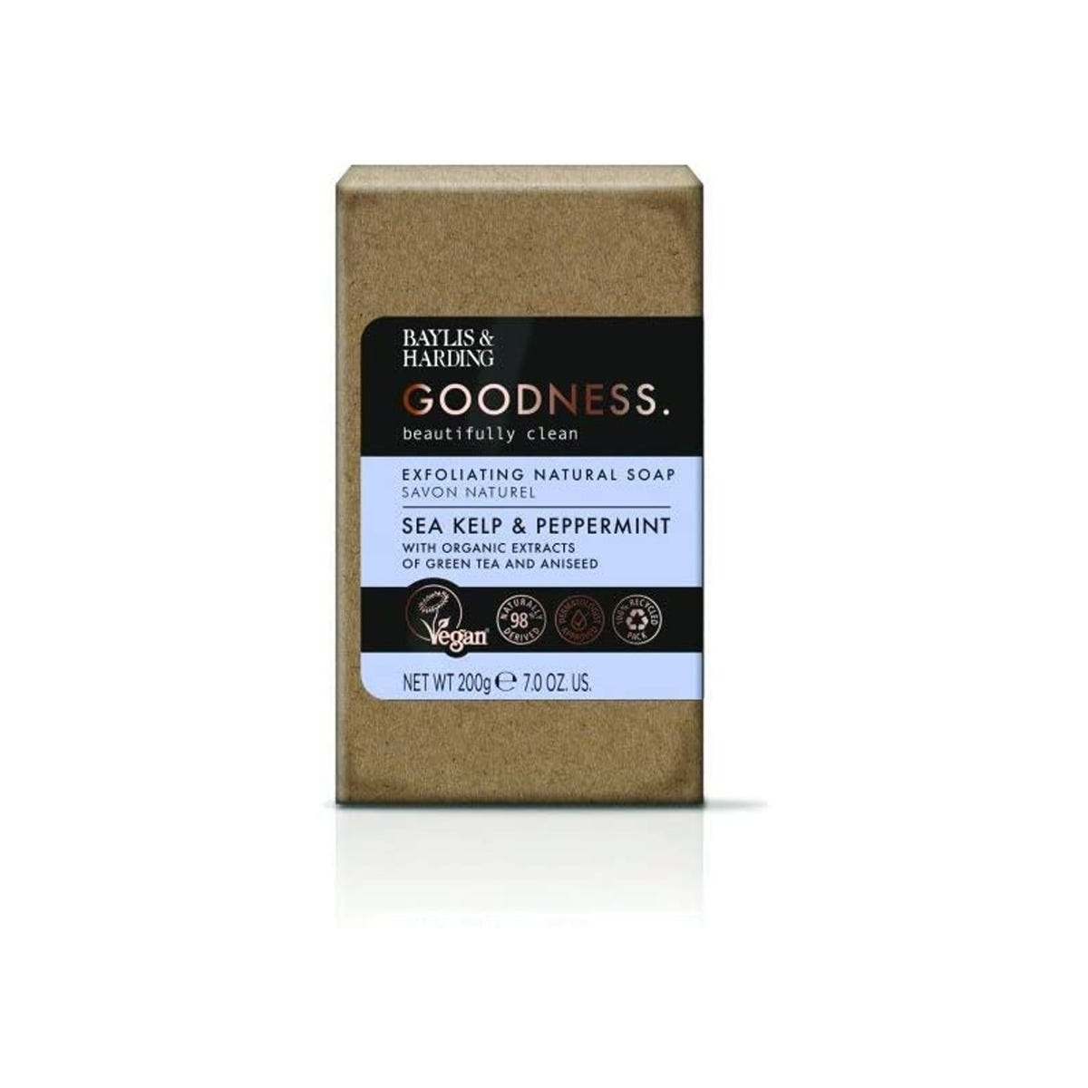 Jabón natural Baylis & Harding® aroma algas marinas y menta