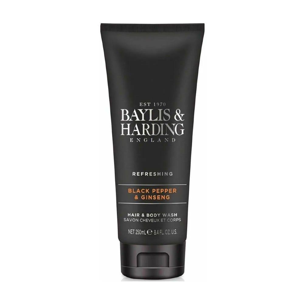 Shampoo y jabón corporal Baylis & Harding® aroma pimienta y ginseng