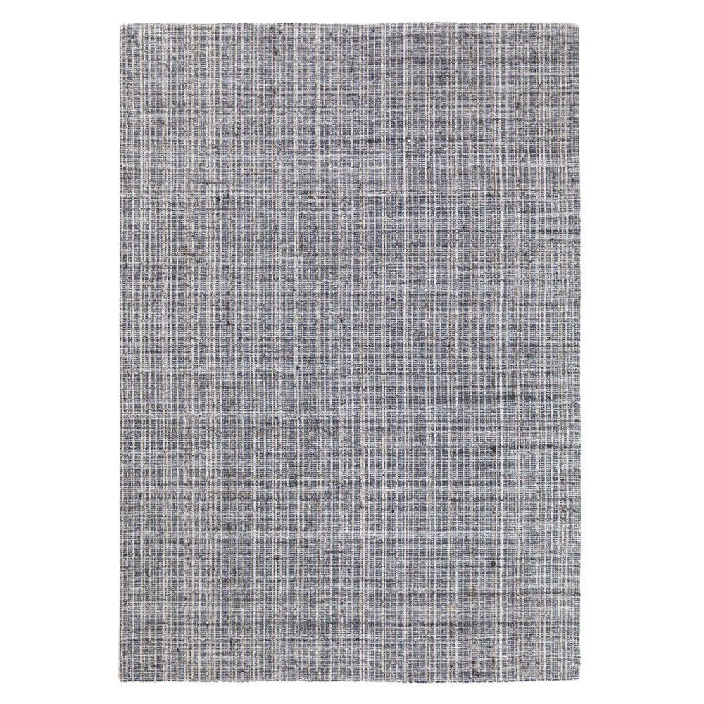 Tapete decorativo de tela viscosa CasaMia® Avation color azul acero