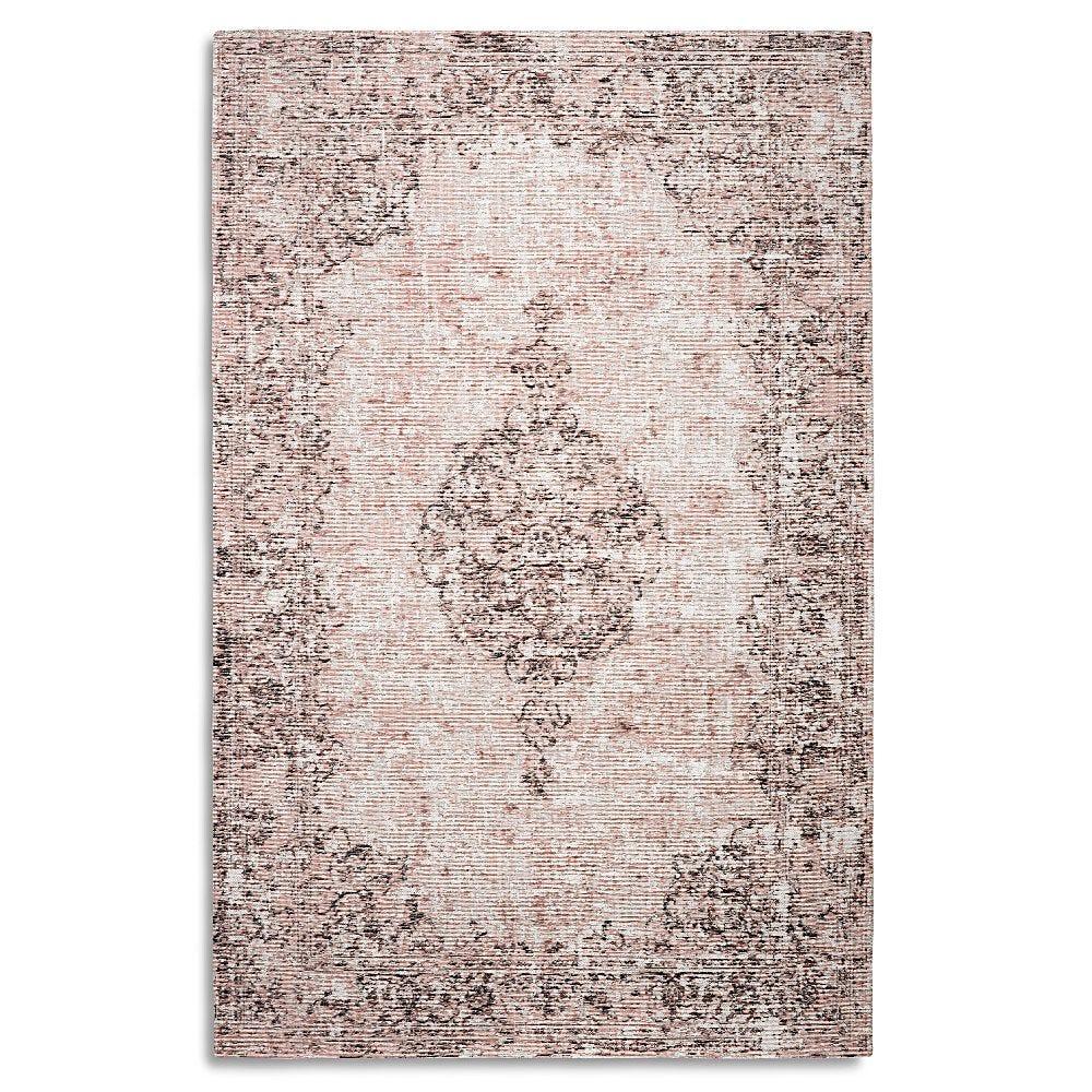 Tapete decorativo de tela viscosa CasaMia® Amalfi color rosa