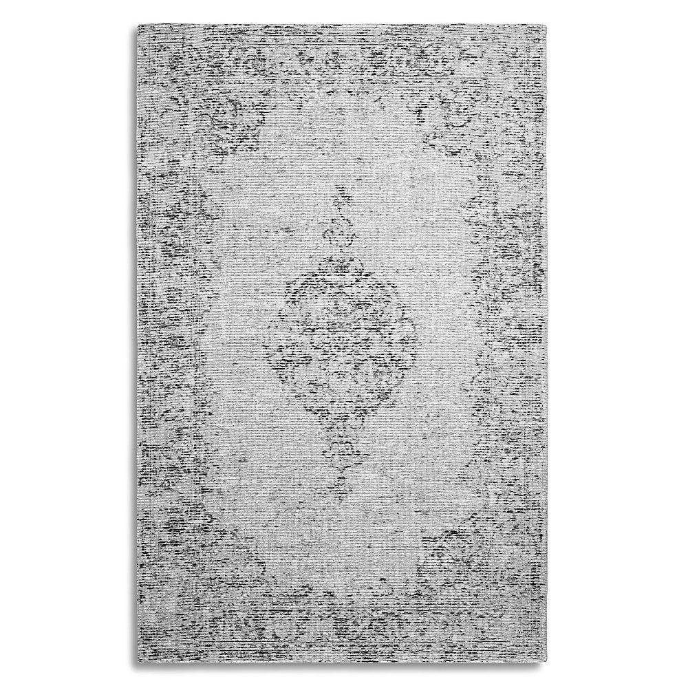 Tapete decorativo de tela viscosa CasaMia® Amalfi color gris