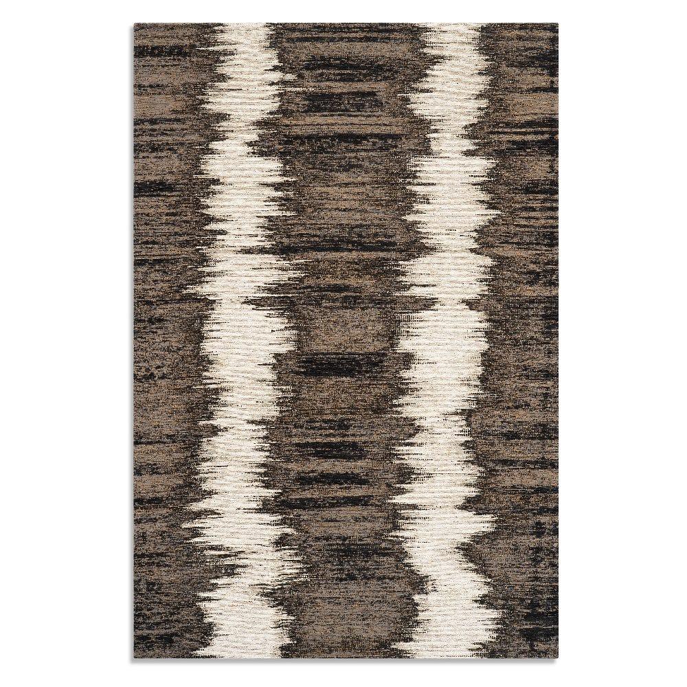 Tapete decorativo de acrílico CasaMia® Metri color negro/plata