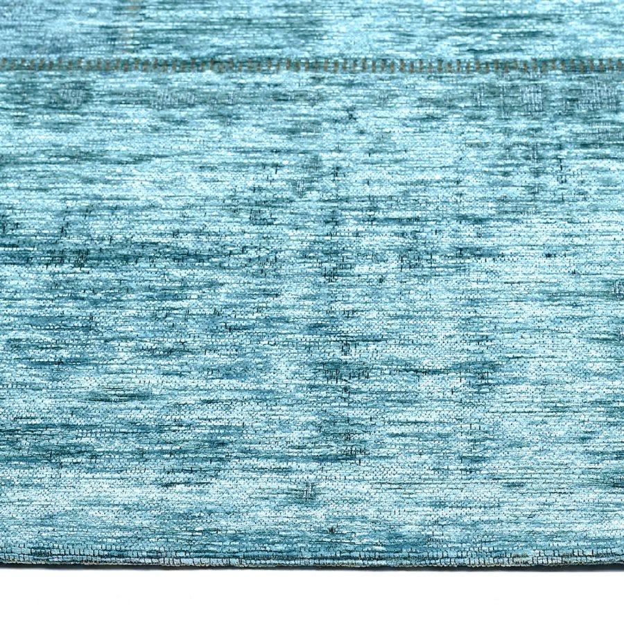 Tapete decorativo de algodón CasaMia® Patch color turquesa