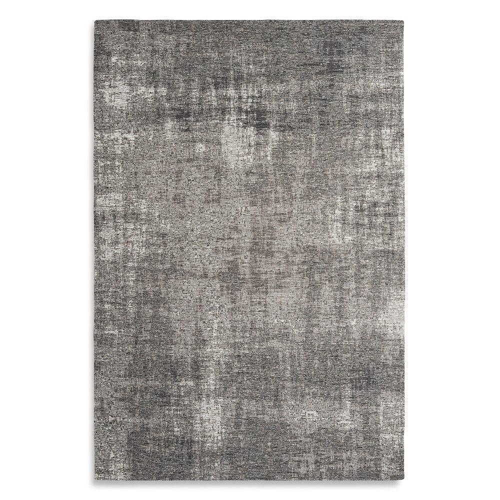 Tapete decorativo de algodón CasaMia® Rubi color plata