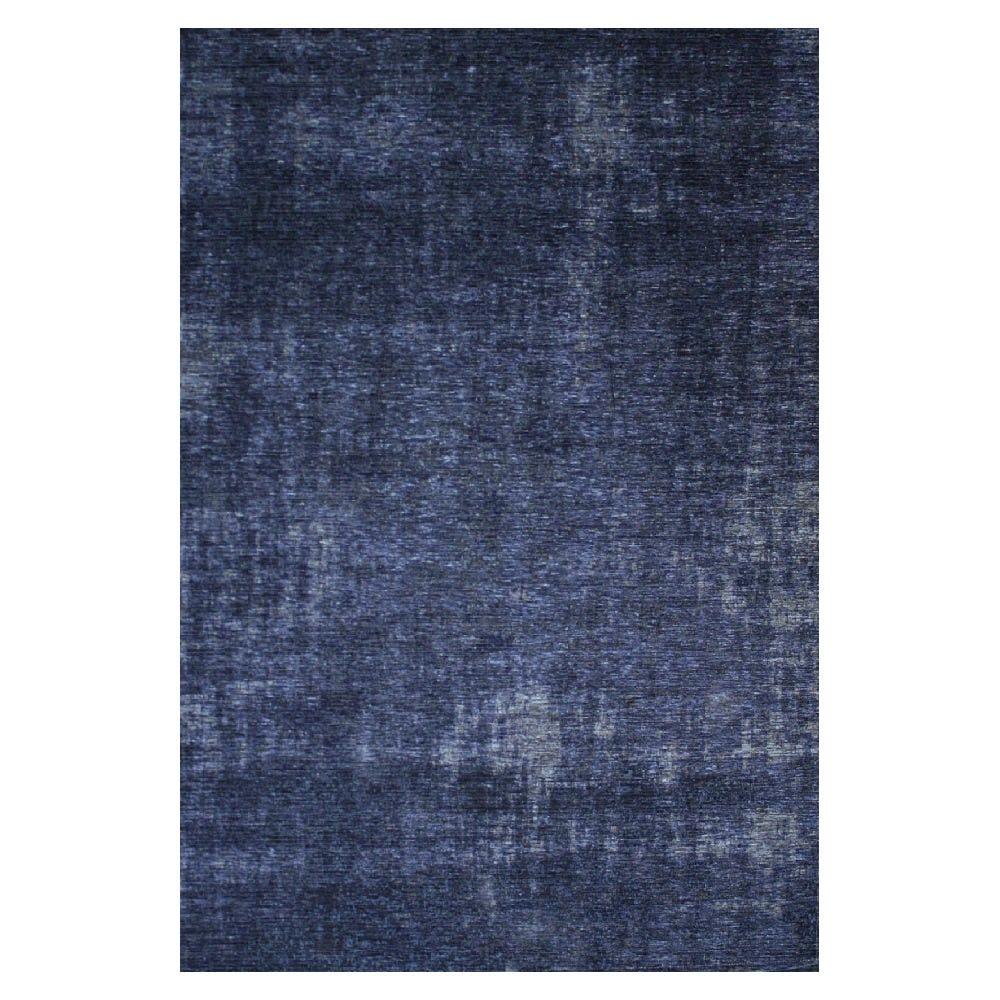Tapete decorativo de algodón CasaMia® Rubi color azul