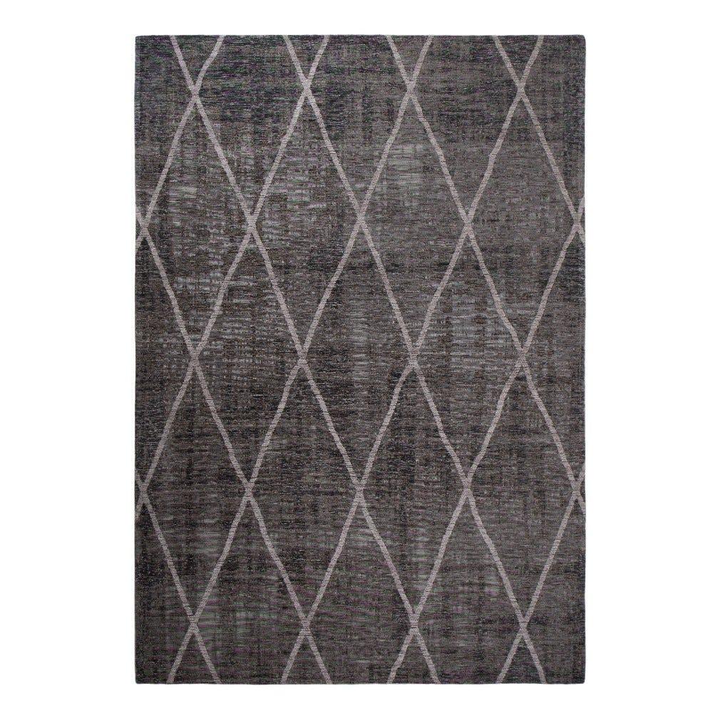 Tapete decorativo de polipropileno CasaMia® Cross color gris