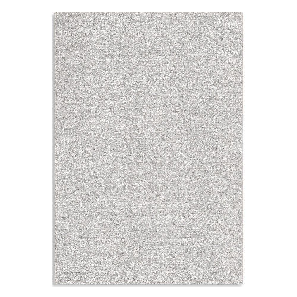 Tapete decorativo de poliéster CasaMia® Sherpa liso color gris claro