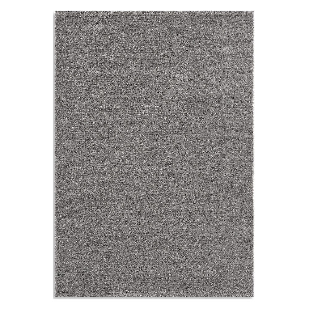 Tapete decorativo de poliéster CasaMia® Sherpa liso color gris oscuro