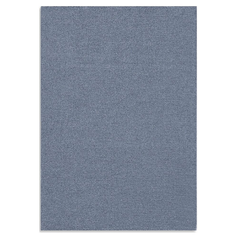 Tapete decorativo de poliéster CasaMia® Sherpa liso color azul