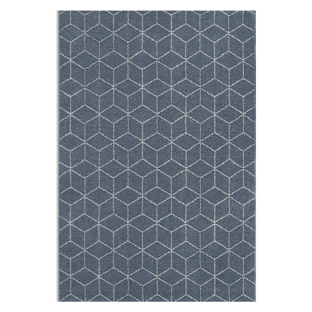 Tapete decorativo de poliéster CasaMia® Sherpa color azul