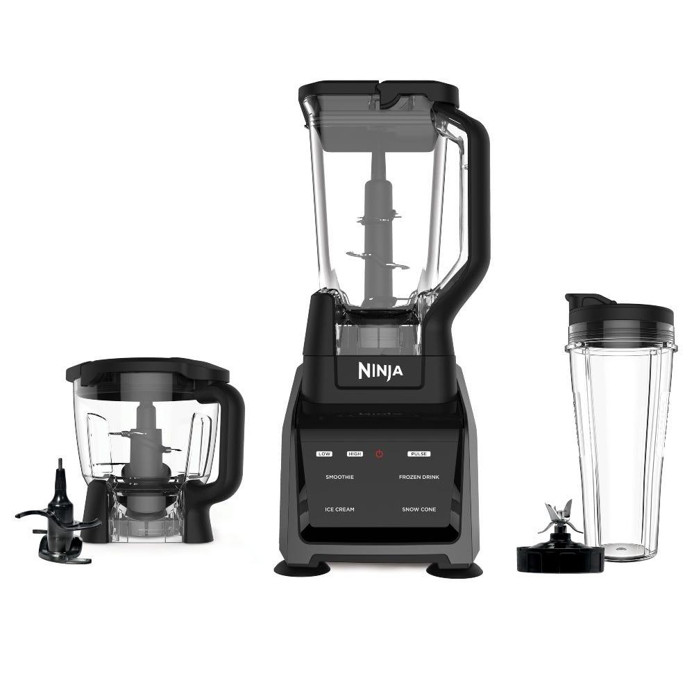 Licuadora y procesador de alimentos de plástico Ninja® Intelli CT680