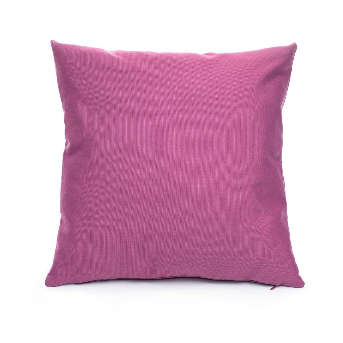 Cojín decorativo cuadrado de poliéster Saratoga® color morado