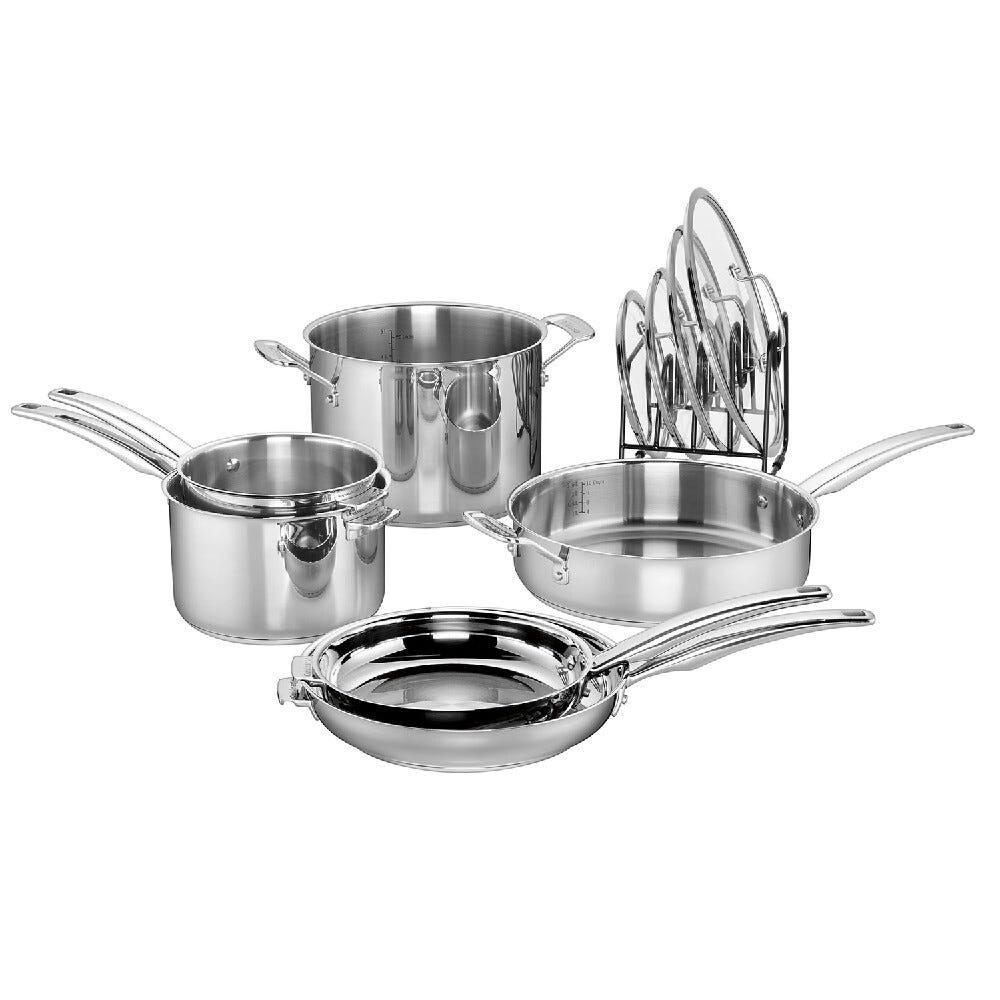 Batería de cocina de acero inoxidable Cuisinart® Smartnest
