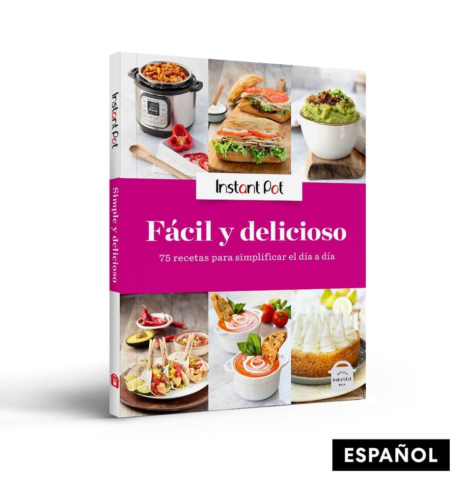 Libro de recetas de papel Instant Pot ® Fácil y Delicioso