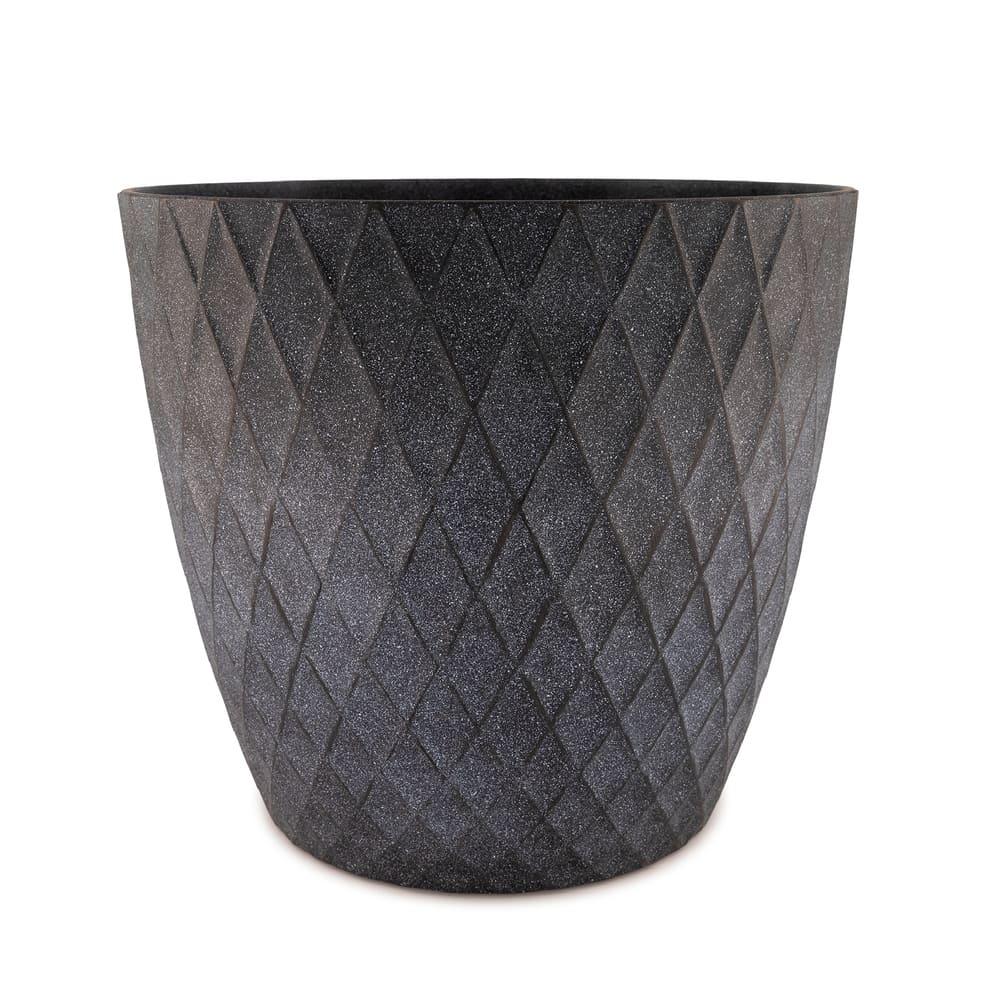 Maceta de plástico CasaMia® Mila color negro