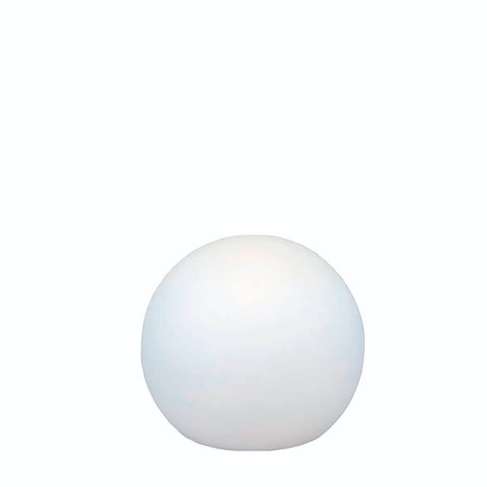 Lámpara solar de plástico New Garden Buly esfera flotante chica