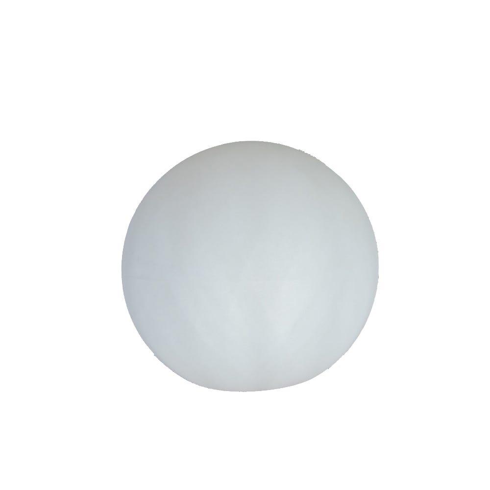 Lámpara solar de plástico New Garden Buly esfera flotante grande