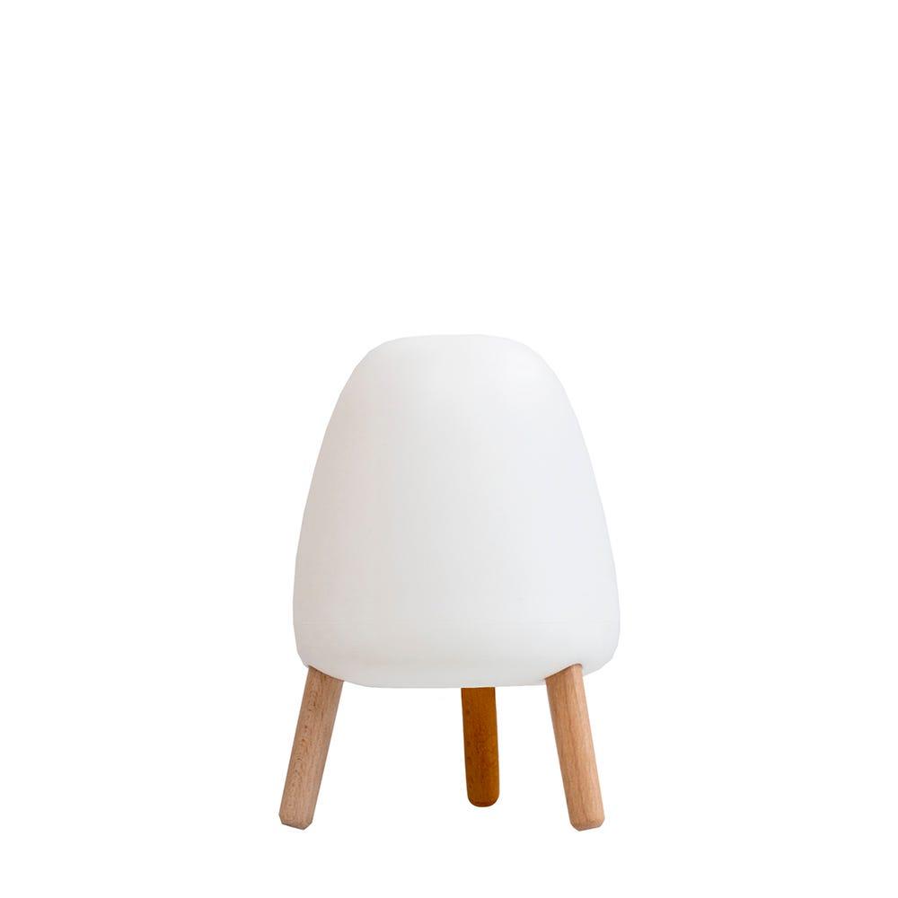 Lámpara de mesa de plástico New Garden Rocket