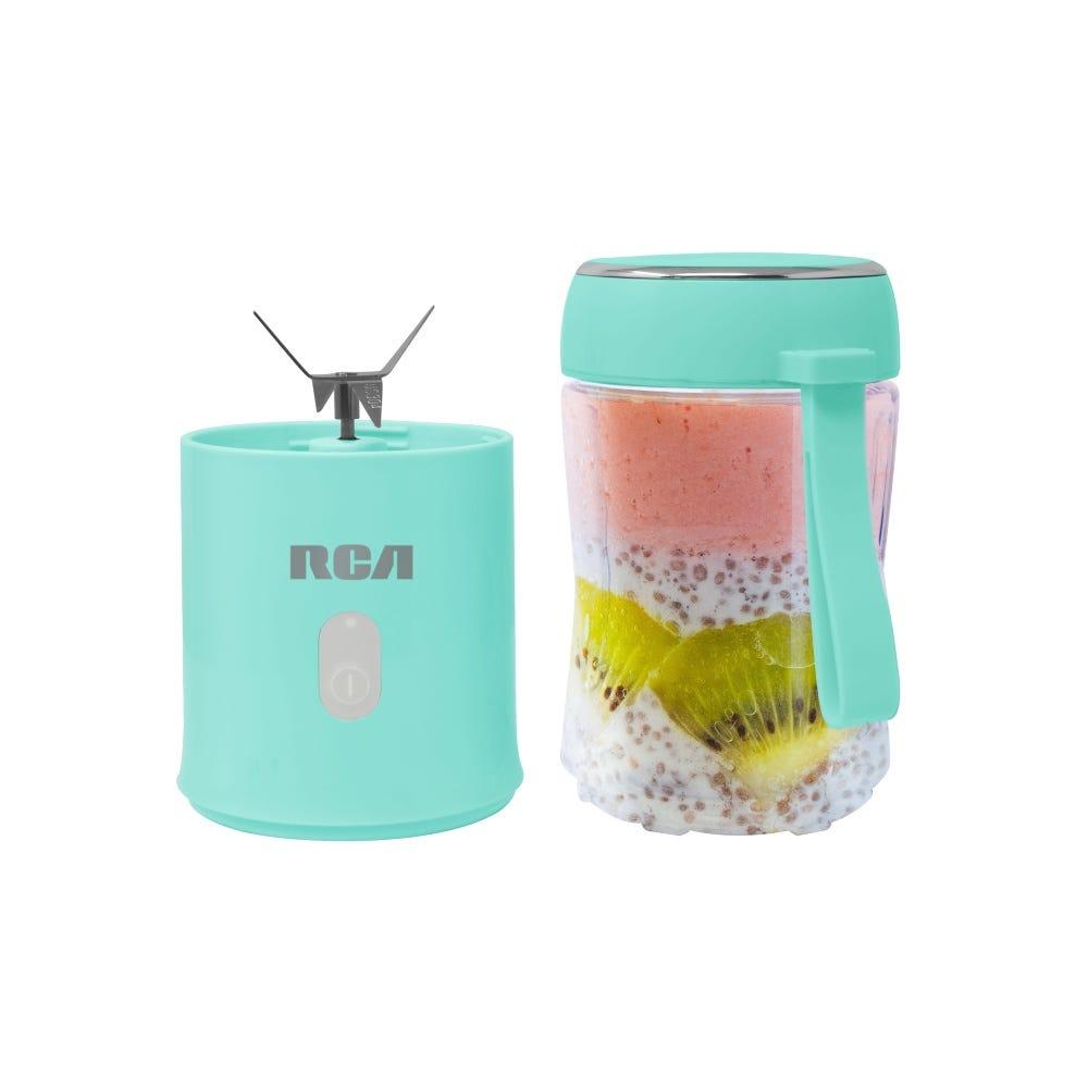 Mini licuadora RCA en aqua