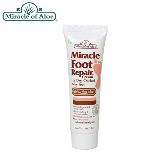 Miracle Foot Repair® Crema reparadora para pies de 29.57 mL (1 oz)