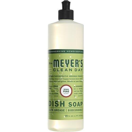 Jabón líquido para platos Mrs. Meyer's® aroma Iowa Pine de 473.17 mL