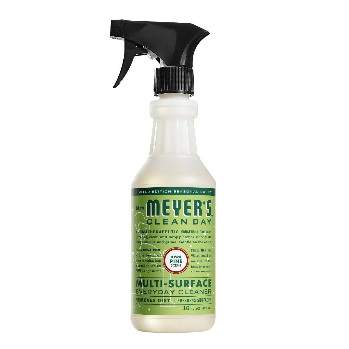 Limpiador de superficies Mrs. Meyer's® en spray aroma Iowa Pine