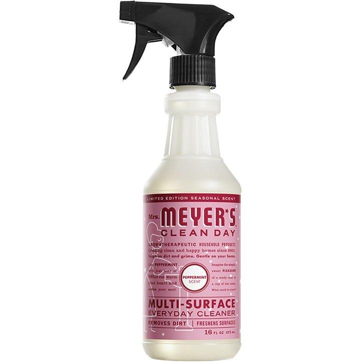 Limpiador de superficies Mrs. Meyer's® aroma menta de 473.17 mL