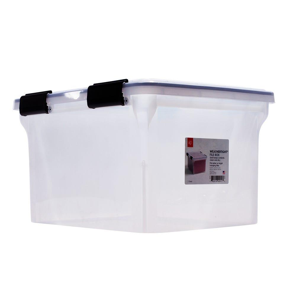 Contenedor para documentos IRIS® de plástico en transparente