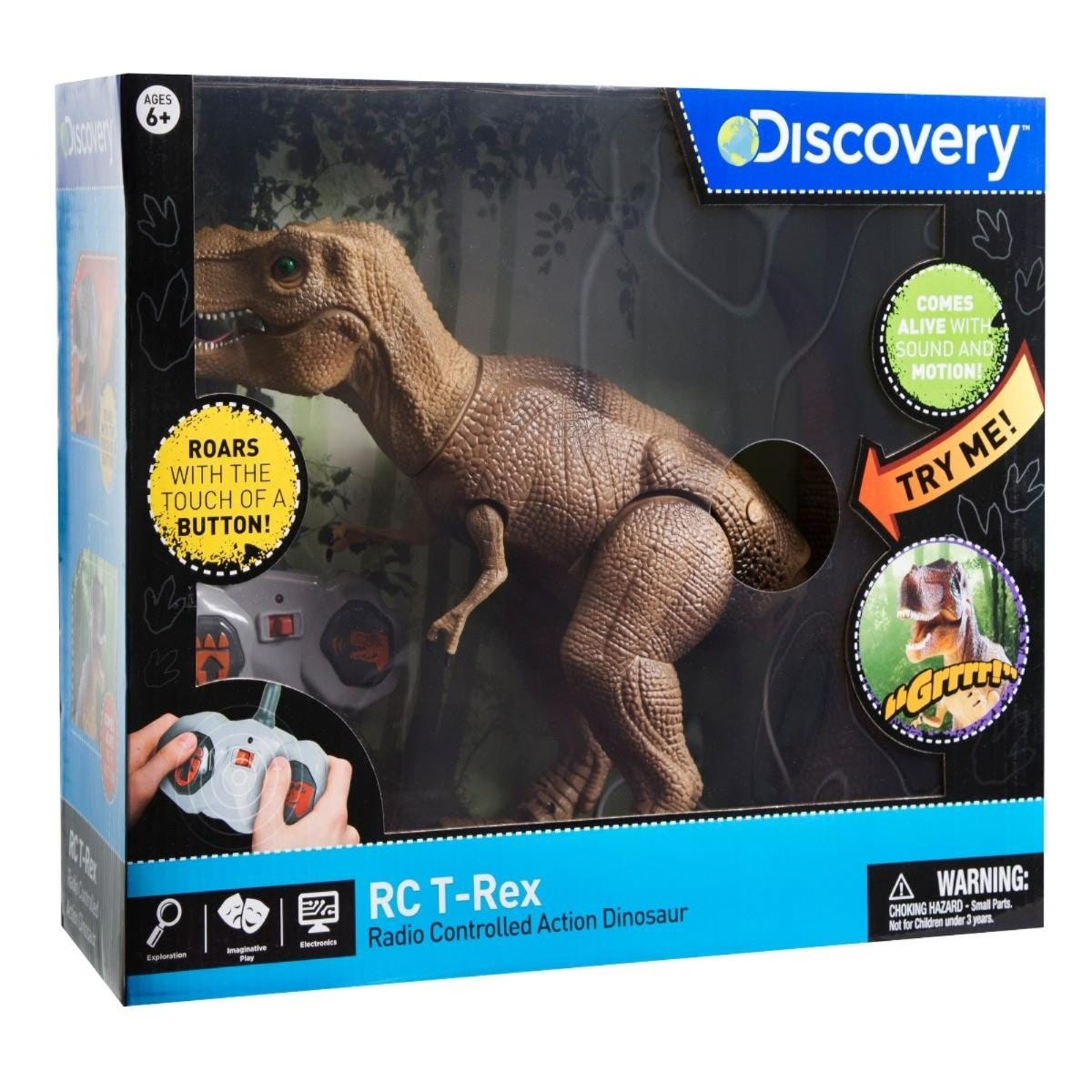 Dinosaurio T-Rex Discovery® Kids a control remoto