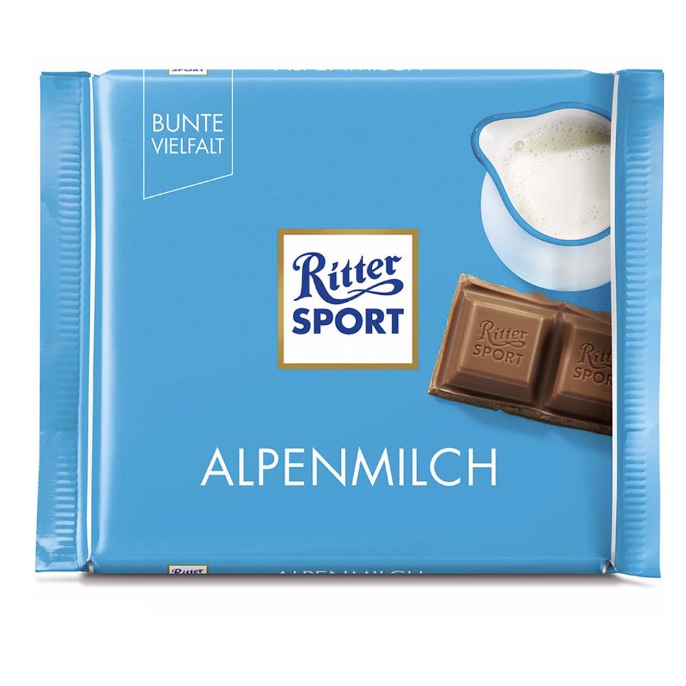 Chocolate extra fino con leche Ritter® de 100 g