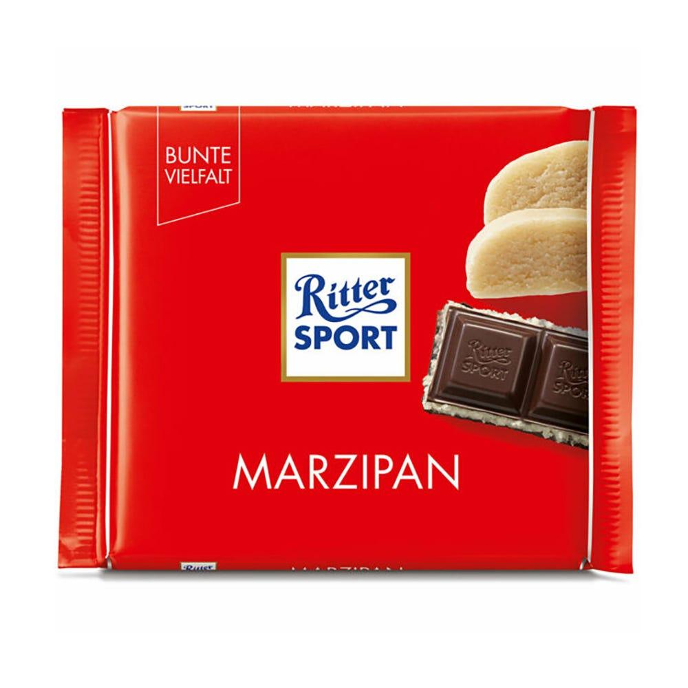 Chocolate amargo con mazapán Ritter®de 100 g