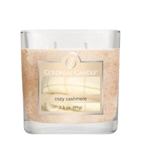 Vela en vaso de vidrio Colonial® Cozy Cashmere 99 g