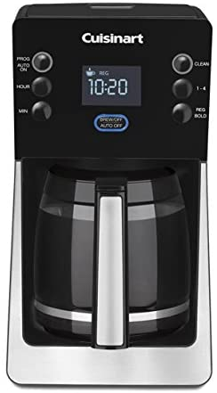 Cafetera digital Cuisinart® 14 tazas en negro