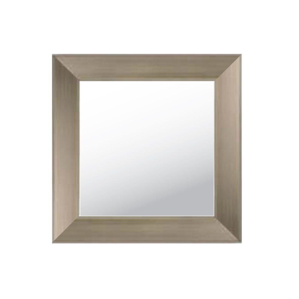 Espejo decorativo de pared 47 x 47 cm