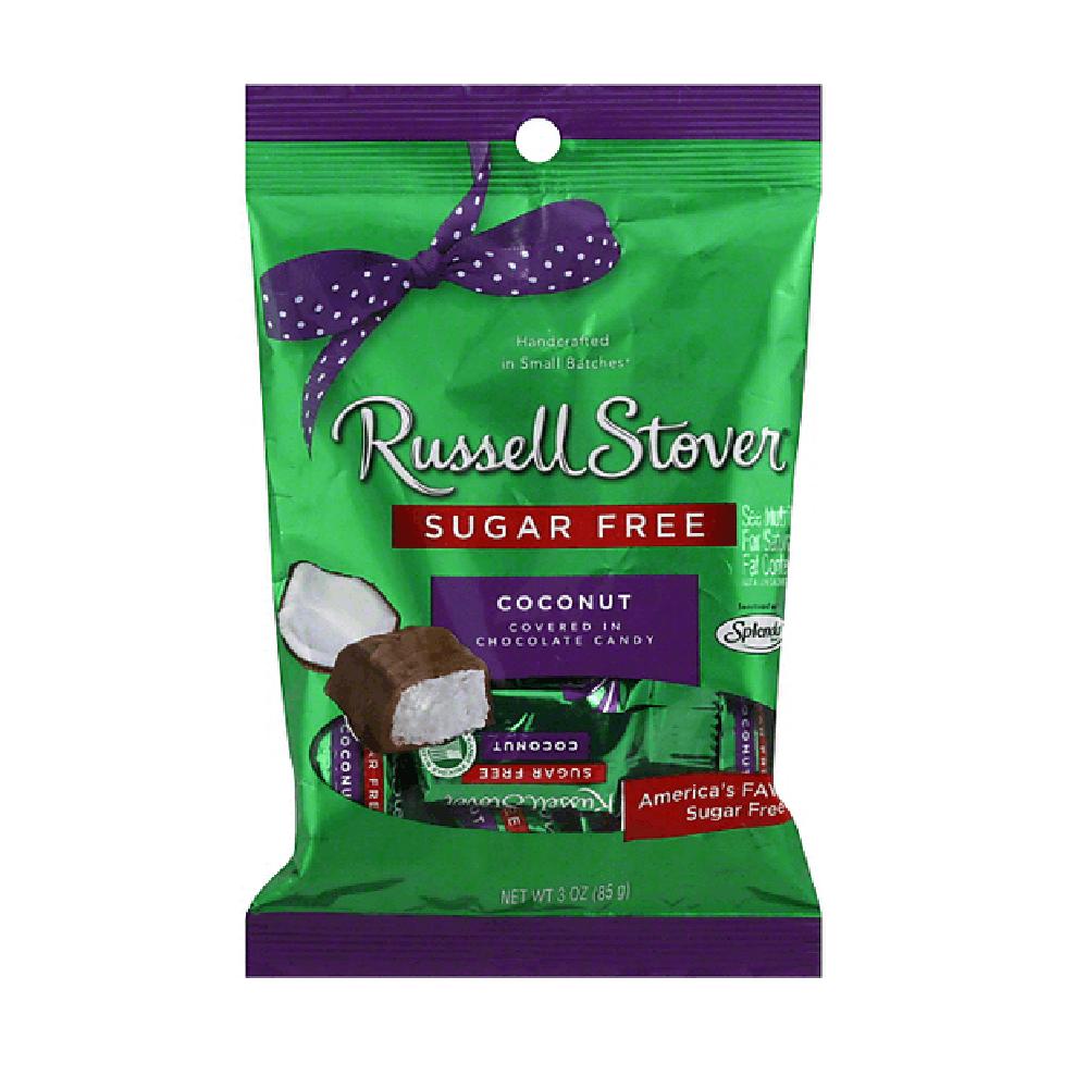 Coco cubierto con chocolate Russel Stover® de 85 g