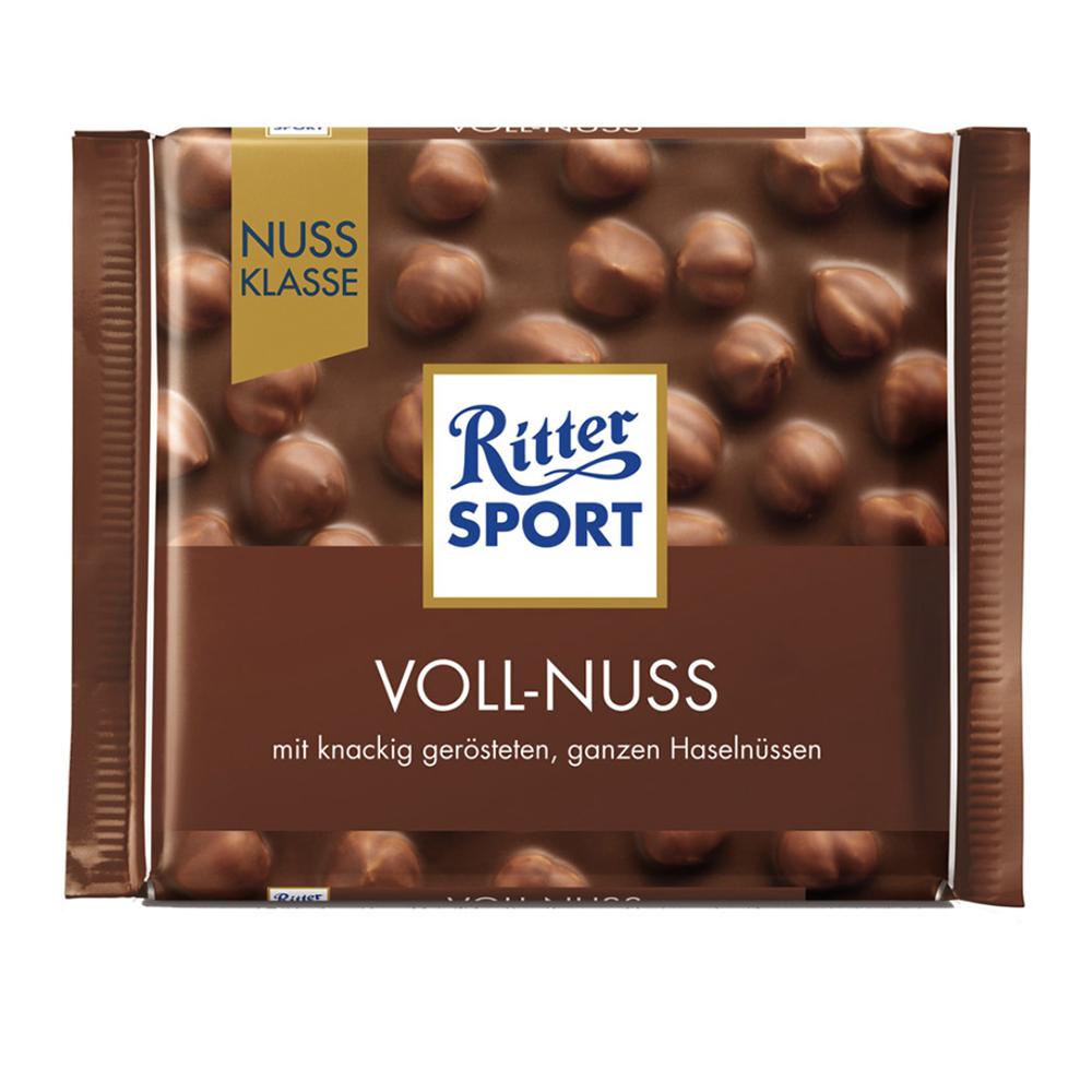 Chocolate con leche y avellanas Ritter® de 100 g