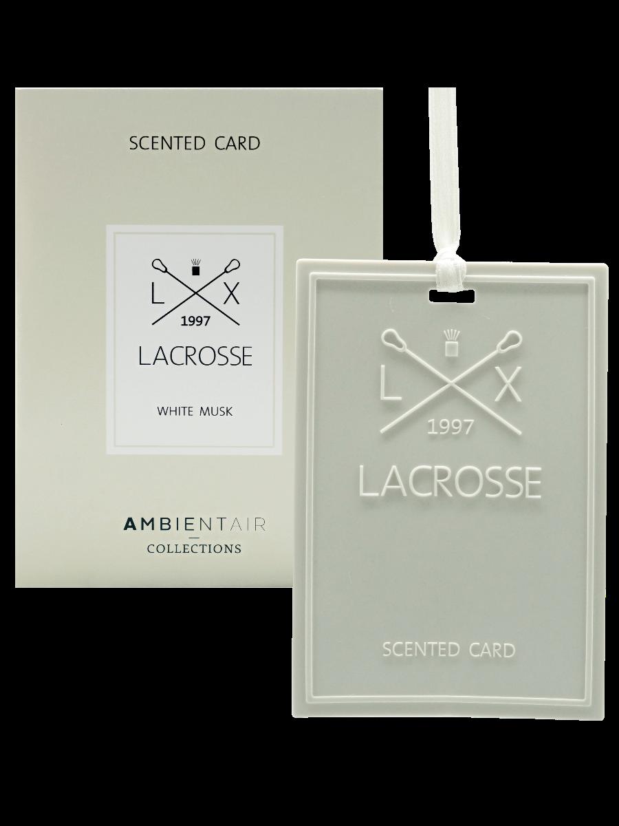 Tarjeta perfumada Lacrosse® White Musk