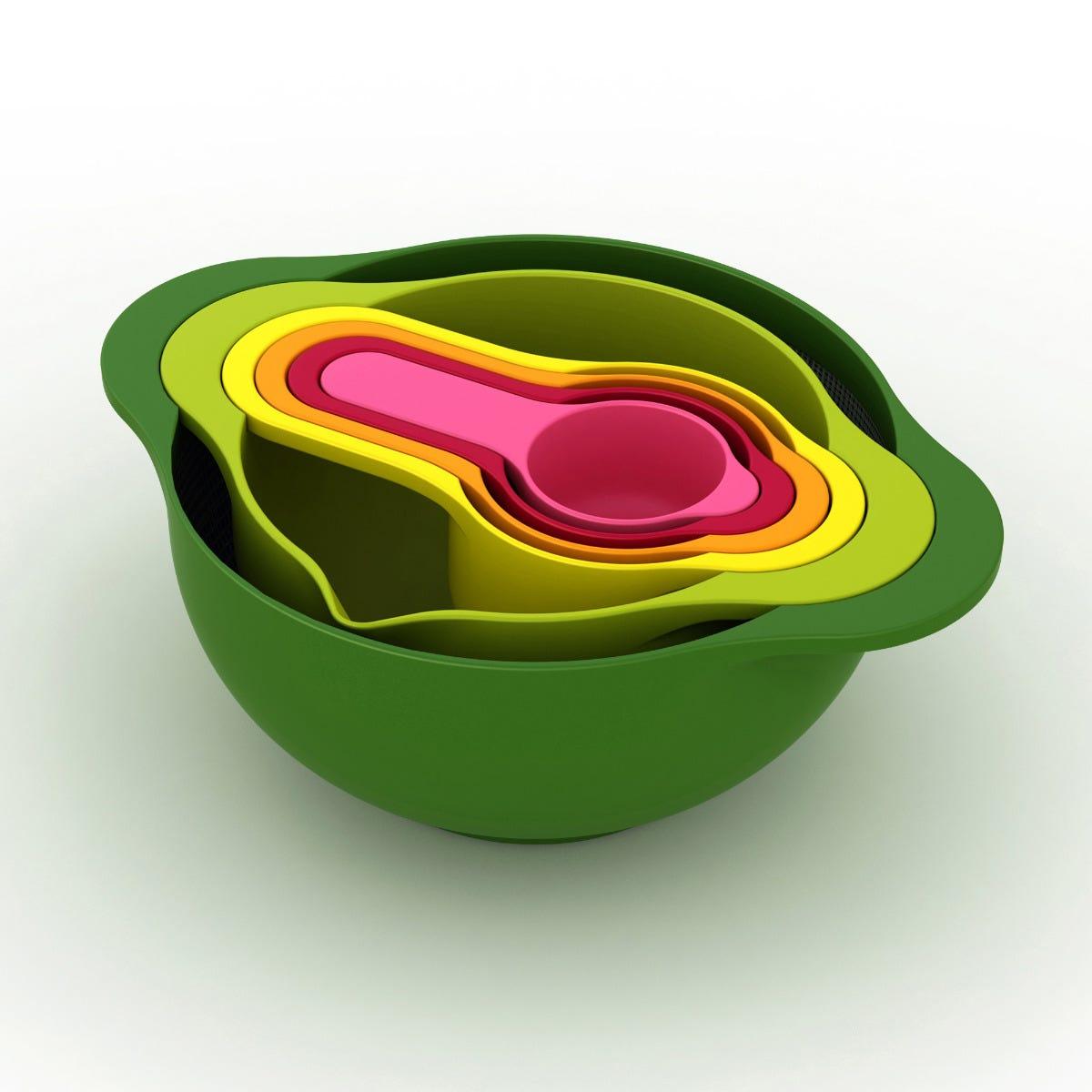 Set de bowls y tazas para medir Joseph Joseph®, 6 piezas