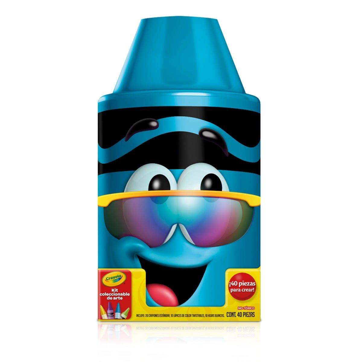 Kit coleccionable de arte Crayola® en azul