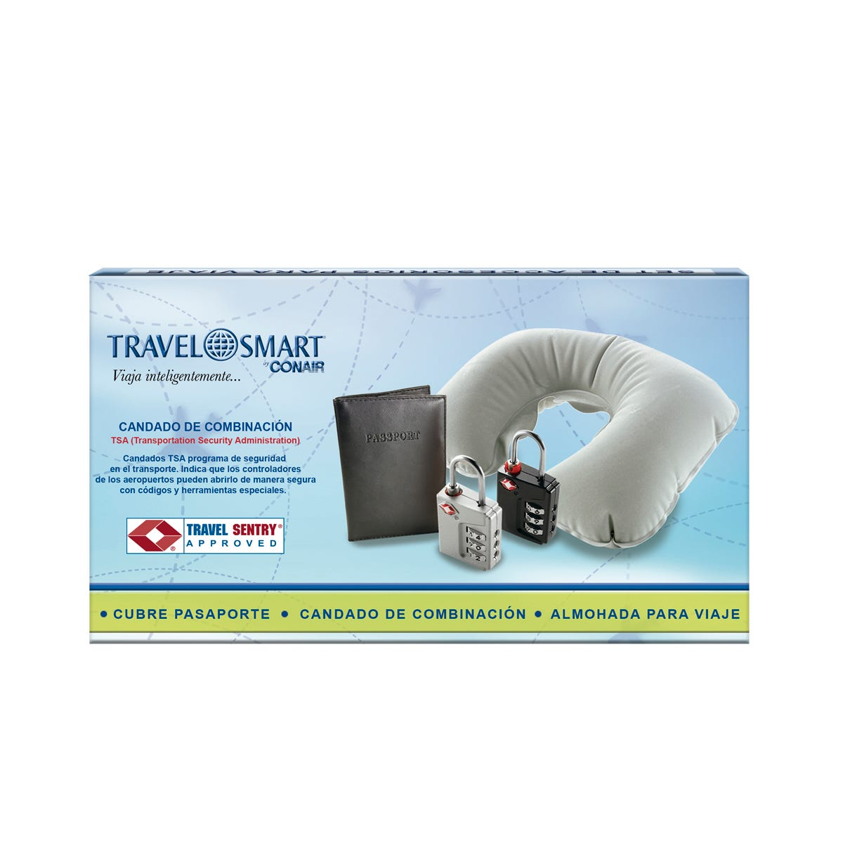 Set de Viaje Travel Smart by Conair®