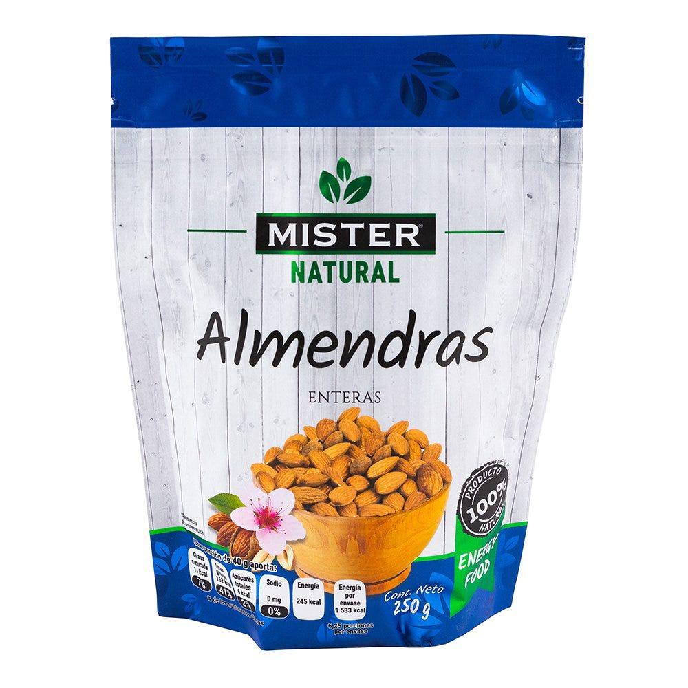 Almendra natural Mister® de 250 g