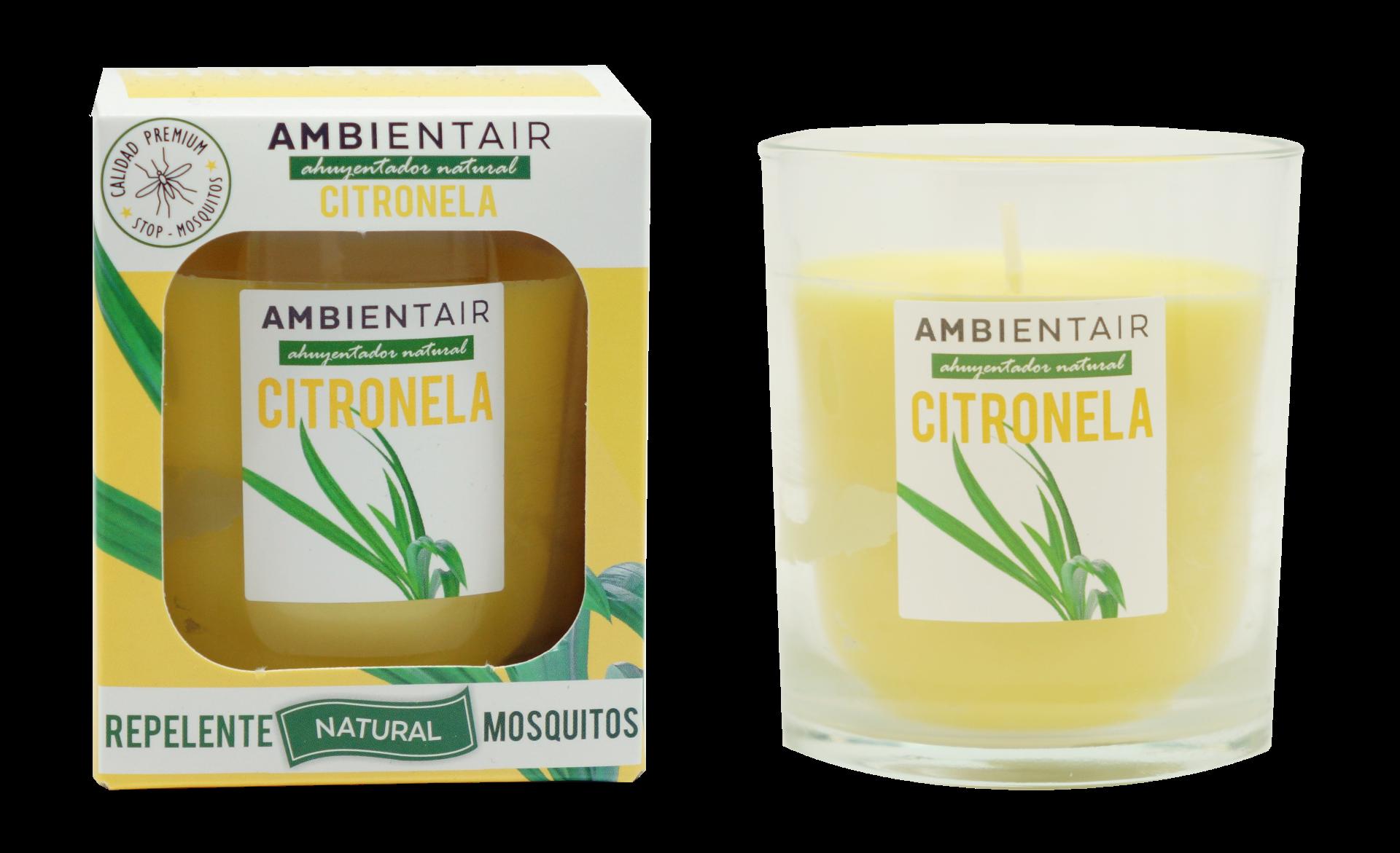 Vela Citronela Ambient Air® Repelente de mosquitos