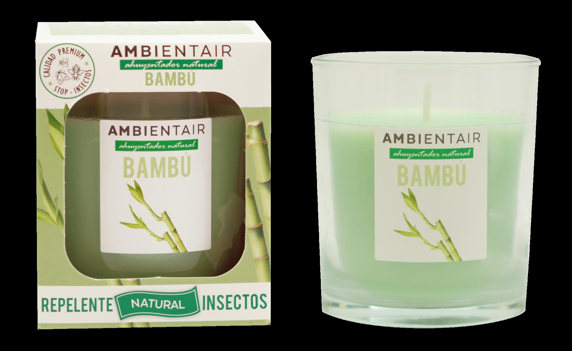 Vela Bambú Ambient Air® Repelente de insectos