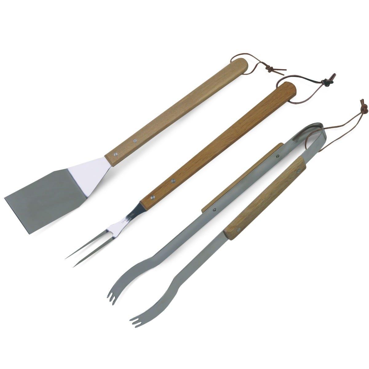 Set de herramientas para asar Char-Broil® de acero inoxidable