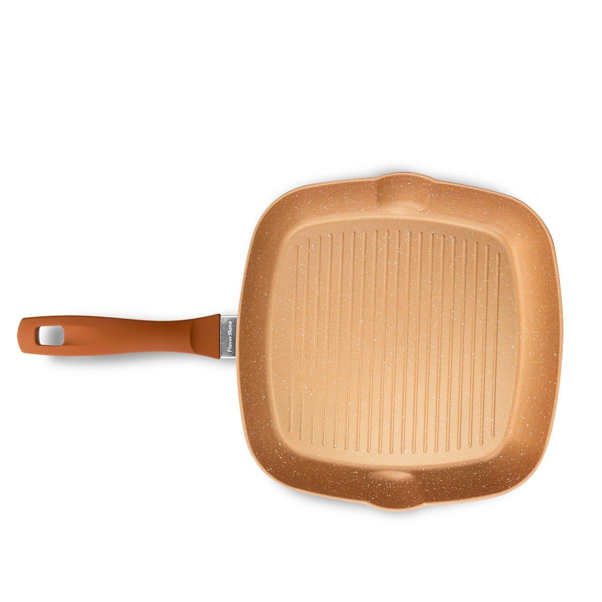 Sartén grill Flavorstone® Copper de 28 x28 cm