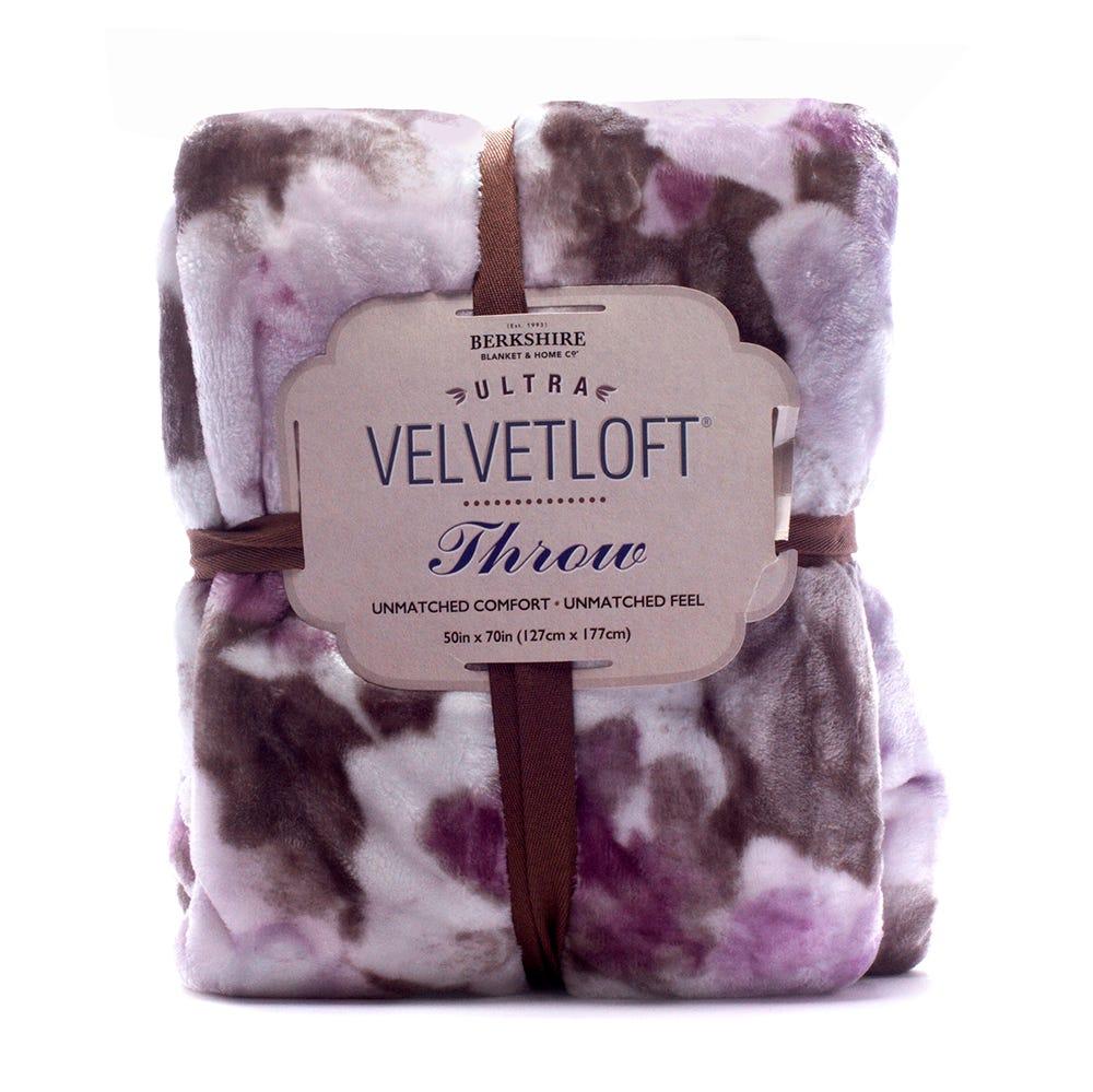 Cobertor 127 cm x 177 cm Velvetloft™ en uva