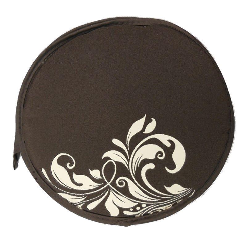 Tortillero de tela Tortilla Oven® con diseño floral en café